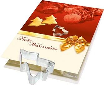 Bild Backe Deinen Weihnachtsbaum, 1-4 c Digitaldruck inklusive