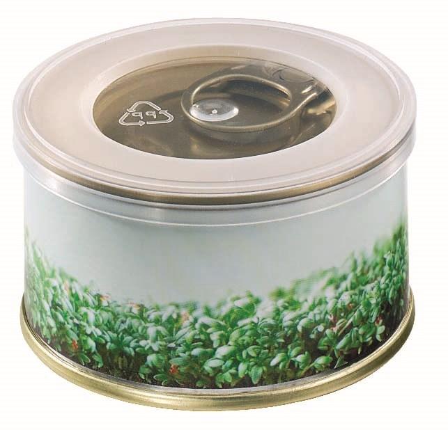 Bild Minigarten Kräuter ohne Magnet, Ø 73 x 38 mm, 1-4 c Digitaldruck inklusive